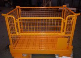 Красный металлист - Сетчатый контейнер